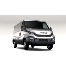 Iveco Daily L2H1 2017 3D Model