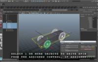 Spin / Drive Master for Maya 1.1.0 (maya script)