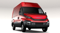 Iveco Daily L2H2 2017 3D Model