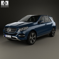 Mercedes-Benz GLE-Class (W166) 2014 3D Model