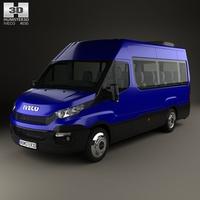 Iveco Daily Passenger Van 2014 3D Model
