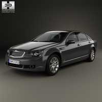 Chevrolet Caprice Royale 2014 3D Model
