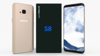 Samsung Galaxy S8 Maple Gold 3D Model