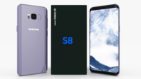 Samsung Galaxy S8 Orchid Gray 3D Model