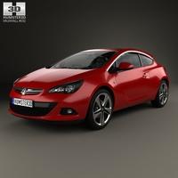 Vauxhall Astra GTC 2011 3D Model