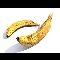 Banana 3D 3D Model