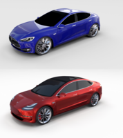 Tesla Model 3 and Model S Pack 3D Model