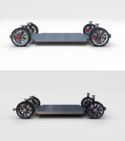 Tesla Model 3 and Model S Chassis Pack 3D Model