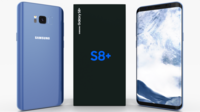 Samsung Galaxy S8+ Coral Blue 3D Model