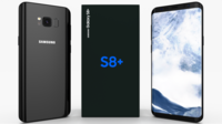 Samsung Galaxy S8+ Midnight Black 3D Model
