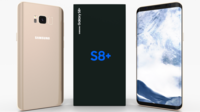 Samsung Galaxy S8+ Maple Gold 3D Model