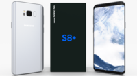 Samsung Galaxy S8+ Arctic Silver 3D Model