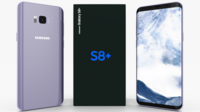 Samsung Galaxy S8+ Orchid Gray 3D Model