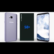 Samsung Galaxy S8+ Orchid Gray 3D Model