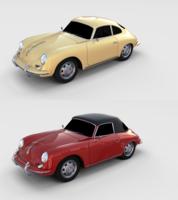 Porsche 356 Pack 3D Model