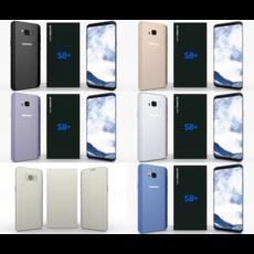 Samsung Galaxy S8+ Pack 3D Model