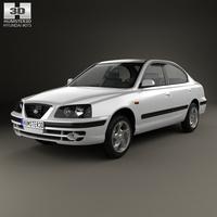 Hyundai Elantra (XD) 2003 3D Model