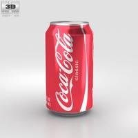 Coca-Cola Can 12 FL 3D Model