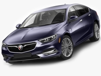 Buick Regal Sportback 2018 3D Model
