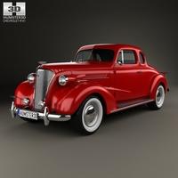 Chevrolet Master DeLuxe (GA) 1937 3D Model