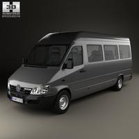 Mercedes-Benz Sprinter (903) Passenger Van L3H2 2000 3D Model