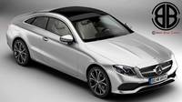 Mercedes E Class Coupe 2017 3D Model