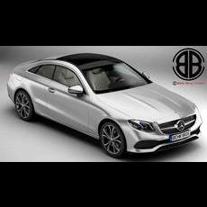 Mercedes E Class Coupe 2017 3D Model