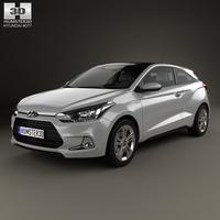 Hyundai i20 Coupe 2015 3D Model