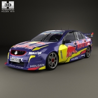 Holden Commodore VF Supercar 2013 3D Model
