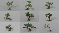 Tree set 3D Model