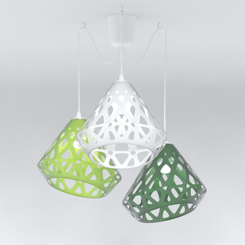 Chandelier ZAHA LIGHT 3D Model