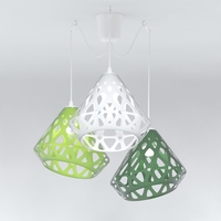 Free Chandelier ZAHA LIGHT 3D Model