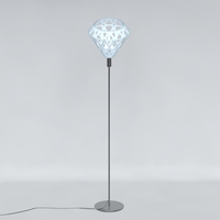 Free Floor lamp ZAHA LIGHT 3D Model