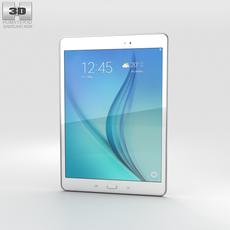 Samsung Galaxy Tab A 9.7 White 3D Model