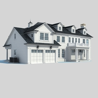Country villa 3D Model