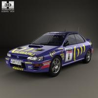 Subaru Impreza WRC (GC) 1993 3D Model