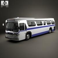 GM New Look TGH-5303 Bus 1965 3D Model