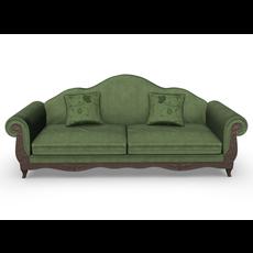 Sofa Multicolor PBR 3D Model