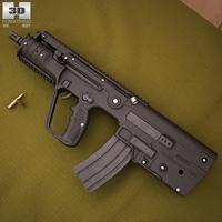 IMI Tavor MTAR21 (X95) 3D Model