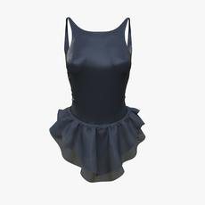 Black dress 3D Model