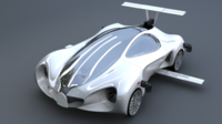Mercedes-benz-biome-NextVersion Car 3D Model