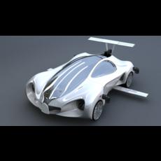Mercedes-benz-biome-NextVersion Car 3D Model