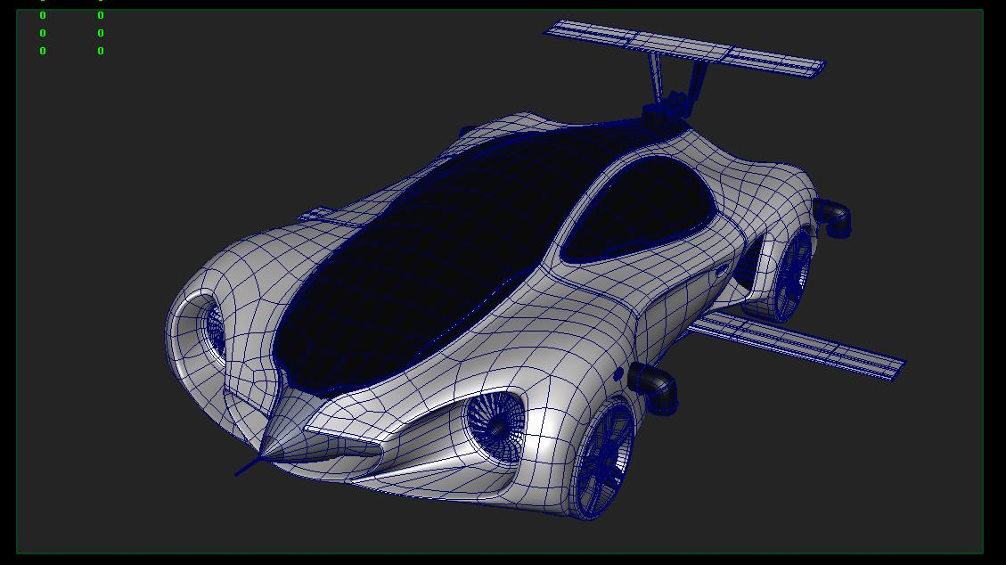 Incroyable ... 11 44 14 206 Mercedes Benz Biome Wireframe 4 ...