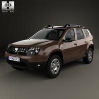 Dacia Duster 2015 3D Model