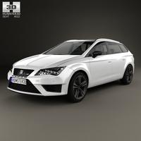 Seat Leon ST Cupra 280 2015 3D Model