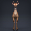 02 08 18 554 low poly realistic deer 02 4