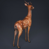 02 08 19 695 low poly realistic deer 05 4