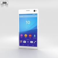 Sony Xperia C4 White 3D Model