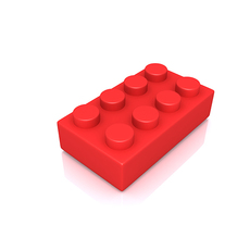 Building Block 3D Model