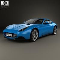 Ferrari F12 Berlinetta Lusso 2014 3D Model